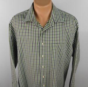 Peter Millar long sleeve button down shirt.  XL